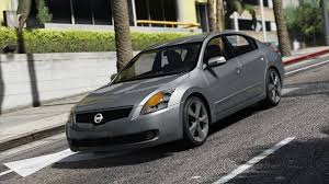 orange nissan altima nissan altima 3 5se add on replace template gta5 mods com