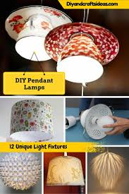 12 diy pendant lamp ideas light fixtures diy and crafts