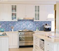 glass tile for kitchen backsplash blue glass kitchen backsplash 28 images kitchen blue glass