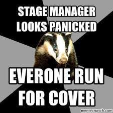 Badger Memes - 13 backstage badger memes that all theatre lovers know too well