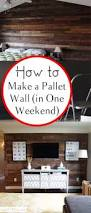 diy home improvement on a budget make a pallet wall easy and