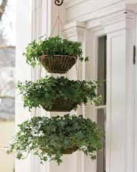 hanging wire baskets planter martha stewart