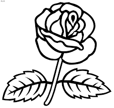 coloring pages roses coloring pages of roses 10321 bestofcoloring