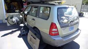 forester subaru 2003 2003 subaru forester window motor replacement youtube