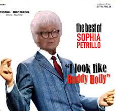 Golden Girls Memes - golden girls meme sophia look like buddy holly glasses golden