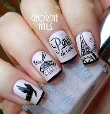 cute i love paris nail art collections paris nail art paris