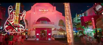 rock cafe at universal citywalk live and