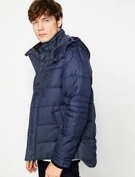 navy men hooded coat 8kam ow711 koton