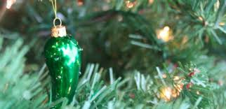 christmas pickle this is what the pickle christmas ornament means tiphero