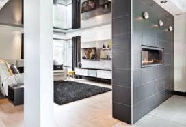 cuisine et salon decoration mur separation salon de décoration murale de la maison