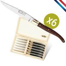 couteaux steak laguiole arts de la table coutellerie au nain