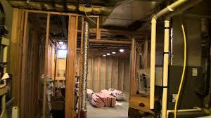 Insulating Unfinished Basement Insulating Basement Storage Room Walls Youtube