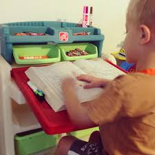 Step 2 Art Desk by Step2 Flip U0026 Doodle Easel Desk With Stool Giveaway Go Grow Go