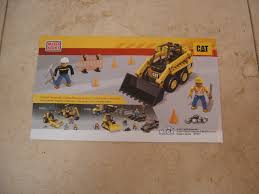 mega bloks cat skid steer loader 97801 replacement instructions