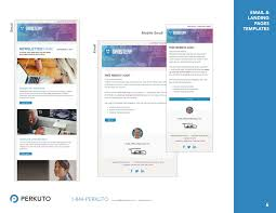 Email Templates Responsive by Marketo Templates Portfolio Landing Page Templates Email