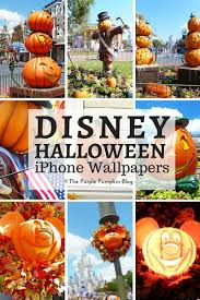 iphone halloween background pumpkin disney halloween iphone wallpapers