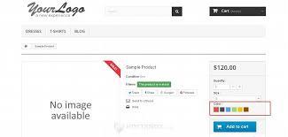 Hostknox Prestashop 1 5 1 6 Product Attributes Tutorial Web Page Color Picker