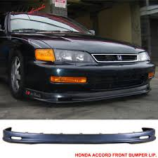 97 honda accord lights 96 97 honda accord mugen style urethane front bumper lip kit