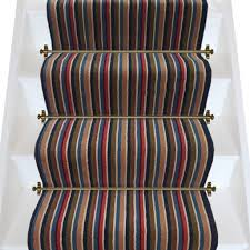 axminster carpets hornsea stripe stair runner very low stock