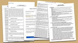 terms and conditions templates to write polices for your business