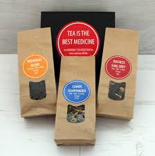 get well soon gifts get well soon tea gift set by posttea notonthehighstreet
