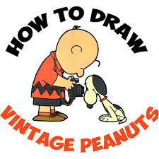 peanuts charlie brown archives draw step step drawing