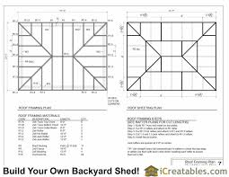 Hip Roof Barn Plans 28 Hip Roof Barn Plans More Free Shed Plans With Hip Roof