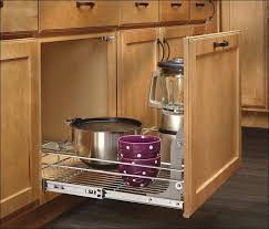 kitchen custom pull out shelves base cabinet pull out shelves