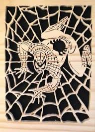 scroll saw spider man patterns free google search silhouette