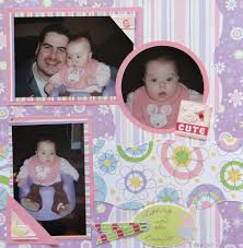 baby girl scrapbook album baby girl scrapbook album 2 me and my cricut