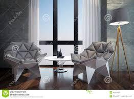 luxury modern home office stock illustration image 40473957