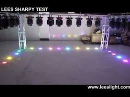 moving head light price india lees 7r 230w beam testing youtube