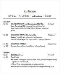 Ideal Resume For Someone With by Wharton Resume Template Sale Executive Resume Sample Resume Cv