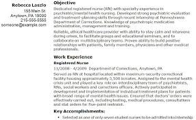er nurse resume professional objective exles sle registered nurse resume exle resume templates