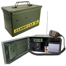 Rugged Ham Radio Complete Vhf Uhf Ham Radio Station In A Metal Ammo Can Survival