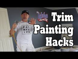Interior Trim Paint Interior Trim Painting Hacks Diy How To Paint House Trim Work