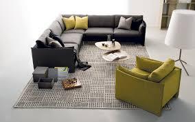 modular sofa corner contemporary fabric urban by bernhardt