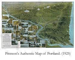 Columbia River Map Columbia River Highway Centennial