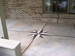 painting concrete patio slab home design ideas and pictures
