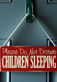 Do Not Disturb Desk Sign Please Do Not Disturb Children Sleeping Wood Door Hanger Sign