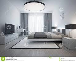 chambre a coucher contemporaine design style contemporain lgant de chambre coucher image stock décorgratuit