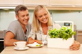 this smart herb garden lets you click u0026 grow freshome com