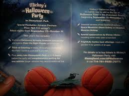 for those asking for info about mickey u0027s halloween party here is