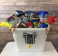 football gift baskets gift baskets and dapper custom party decorations