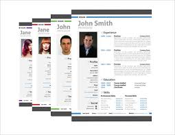 Creative Resume Free Templates Modern Resume Templates 42 Free Psd Word Pdf Document Download