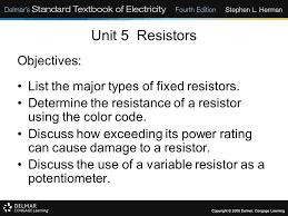 unit 5 resistors ppt download