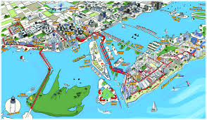 Travel Map Of Usa by Usa Miami Activities Miami Boat Tour Map New Zone