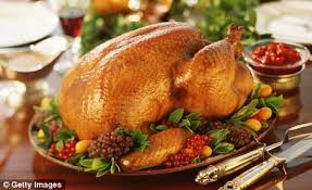 turkey is out of favour as beef and become festive favourites