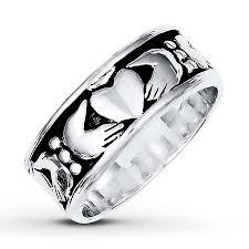 mens sterling rings images Kay men 39 s claddagh ring sterling silver 8mm jpg