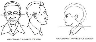 air force female hair standards is a comb over fade allowed in the u s military quora